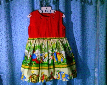 Cute summer dress, girls' size 3