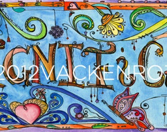 significance - postcard