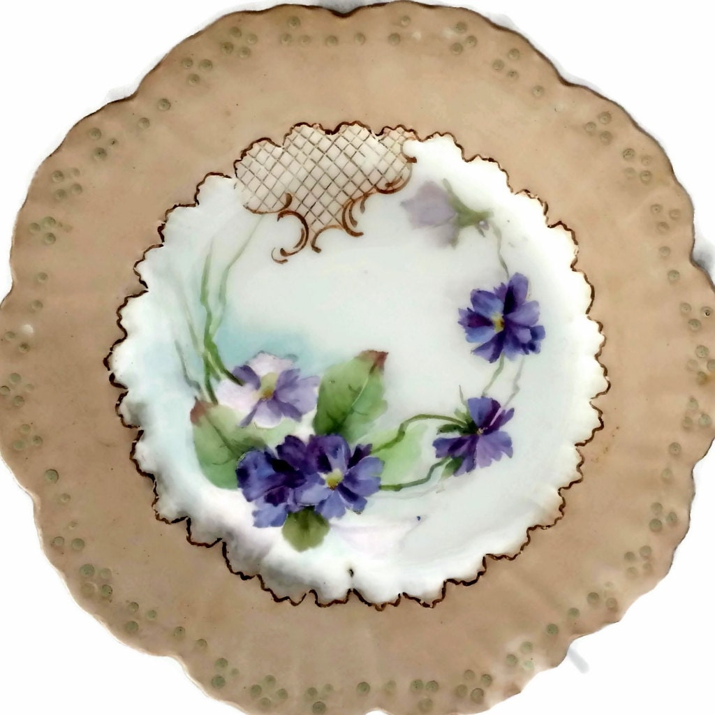 Limoges W G Co France Plate By EclecticVintager On Etsy