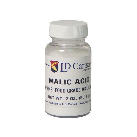Malic Acid For Wine Making 2 oz Bag