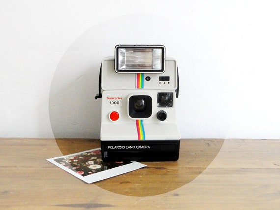 polaroid supercolor 1000 flash test par petitbonheurtralala. Black Bedroom Furniture Sets. Home Design Ideas