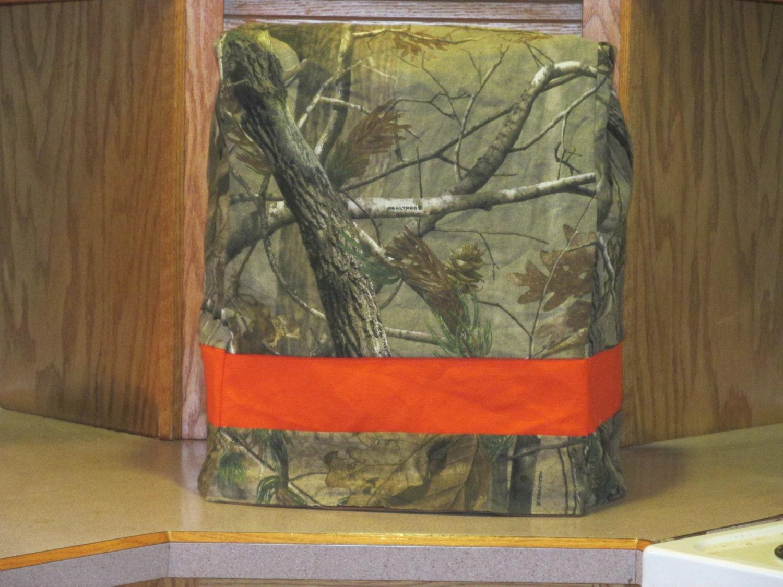 Camo Kitchen Mixer Cover Realtree Camouflage Camo & Blaze