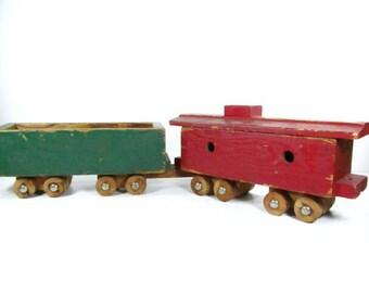 Vintage Train Toy 115