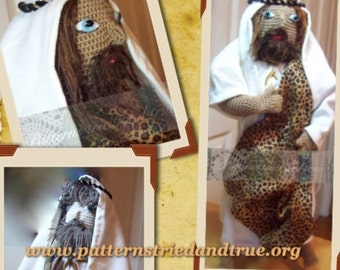 Crochet Pattern Bible Character Action Figure Doll, Beginners, Sunday/ Homeschool Project, Male Bible Doll, Easy Tutorial