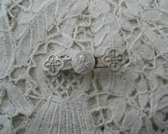 Antique religious brooch 1910