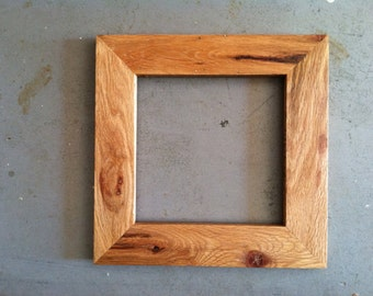 custom oak wood frames all sizes