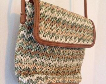 Vintage Fossil Crossbody Handbag 8 x 7 in