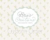 Custom Order- Emily