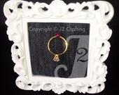 items similar to wedding ring holder pincushion white