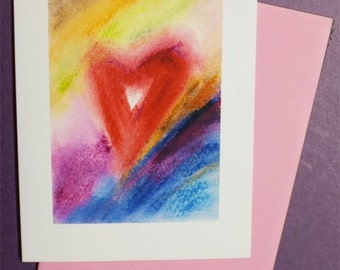 Heart  Note Card