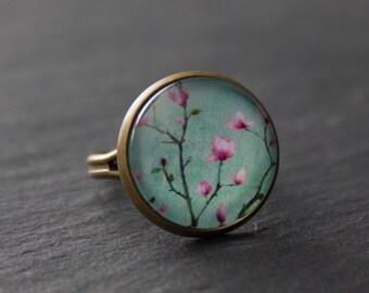 Ring - cherry blossom