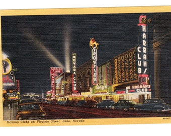 Reno Nevada Vintage Postcard Lot (unused)