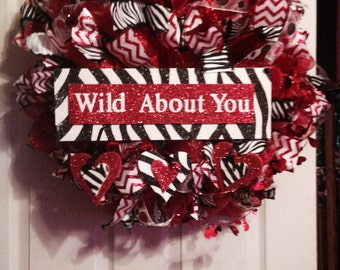 Wild About You Wreath