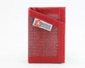 Fire hose slim card wallet
