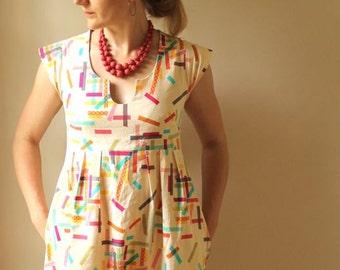 Washi Dress- Made by RAE Sewing Patterns