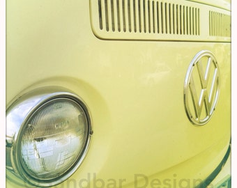 4 x 4 photo card-Angel Cake VW bus