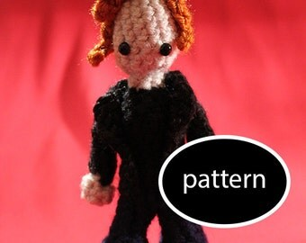 Pattern for Abaddon (Angry Ginger!) Supernatural Mini