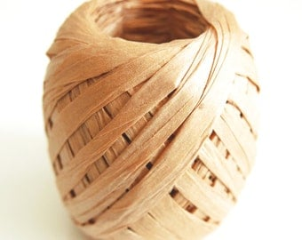 2 Roll -  30 Metres Craft Paper Raffia Ribbon Paper String Paper for Gift Wrap - 9 colors to choose from