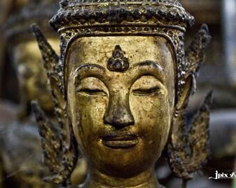 Thailand -  Bangkok - Buddha - Fine Art Photography Modern Wall Art in Various Sizes 8x10, 8x12, 11x14, 12x18, 16x20, 16x24