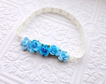 The Blue Pixie Crown