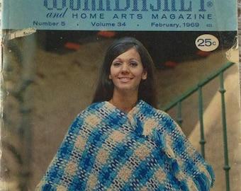 1969 The Workbasket and Home Arts Magazine #5 Volume 34 February