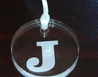 Custom Engraved Round Acrylic Tags-Set of 5