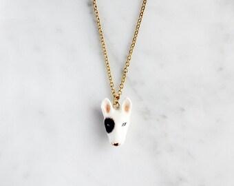 Bob bull terrier Necklace.