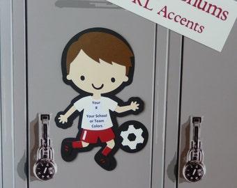 cheerleading locker decorations. Soccer Locker Decorations  Personalize your own Chum Cheerleader Decoration