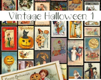 Vintage Halloween 1 - Digital Halloween Images