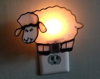 Little sheep night light / sun catcher