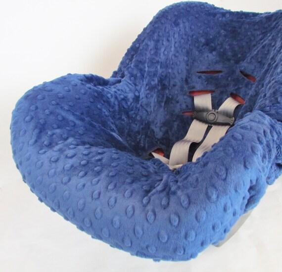 infant car seat cover liner minky dimple dot liner infant. Black Bedroom Furniture Sets. Home Design Ideas
