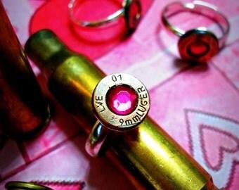 Breast Cancer Awareness Adjustable Ring