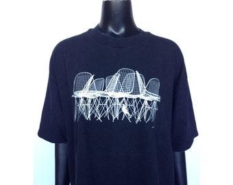 Vintage Eames Chair Design T-Shirt RARE