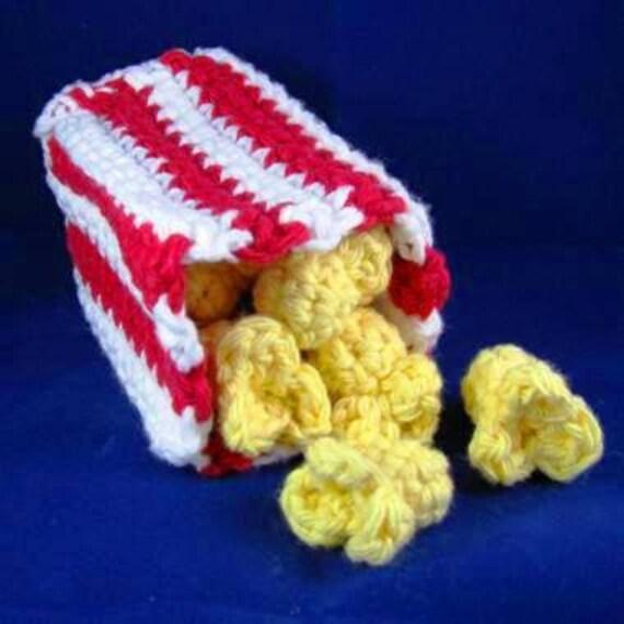 Crochet Quick Amigurumi : Amigurumi Crochet Pattern Quick and Easy Cute Popcorn and