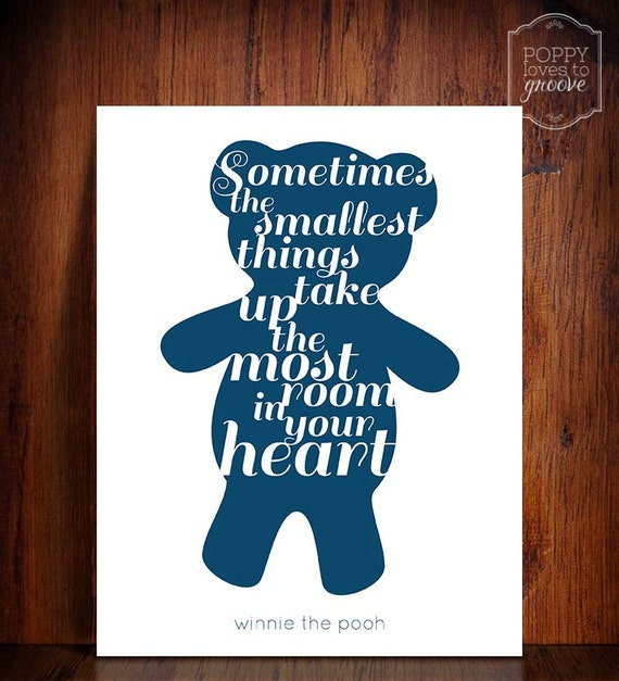 Winnie The Pooh Quotes Sometimes The Smallest Things: Winnie The Pooh Quote Sometimes The Smallest By
