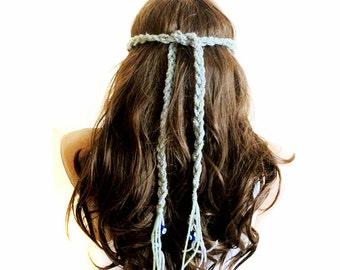 Crochet Headband Boho bohemian Headband Hippie Headband Hair Accessories Headband Crochet Headbands for Women gift ideas