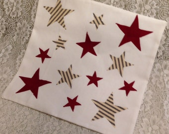 """Patriotic Pillow Covers in 3 choices 16"""" x 16"""""""