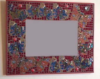 Butterfly Mosaic Mirror