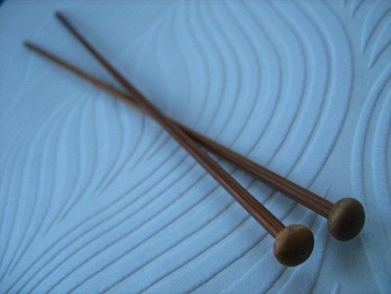 3mm Knitting Needles : 3mm Bamboo Knitting Needles. Single Pointed Sustainable