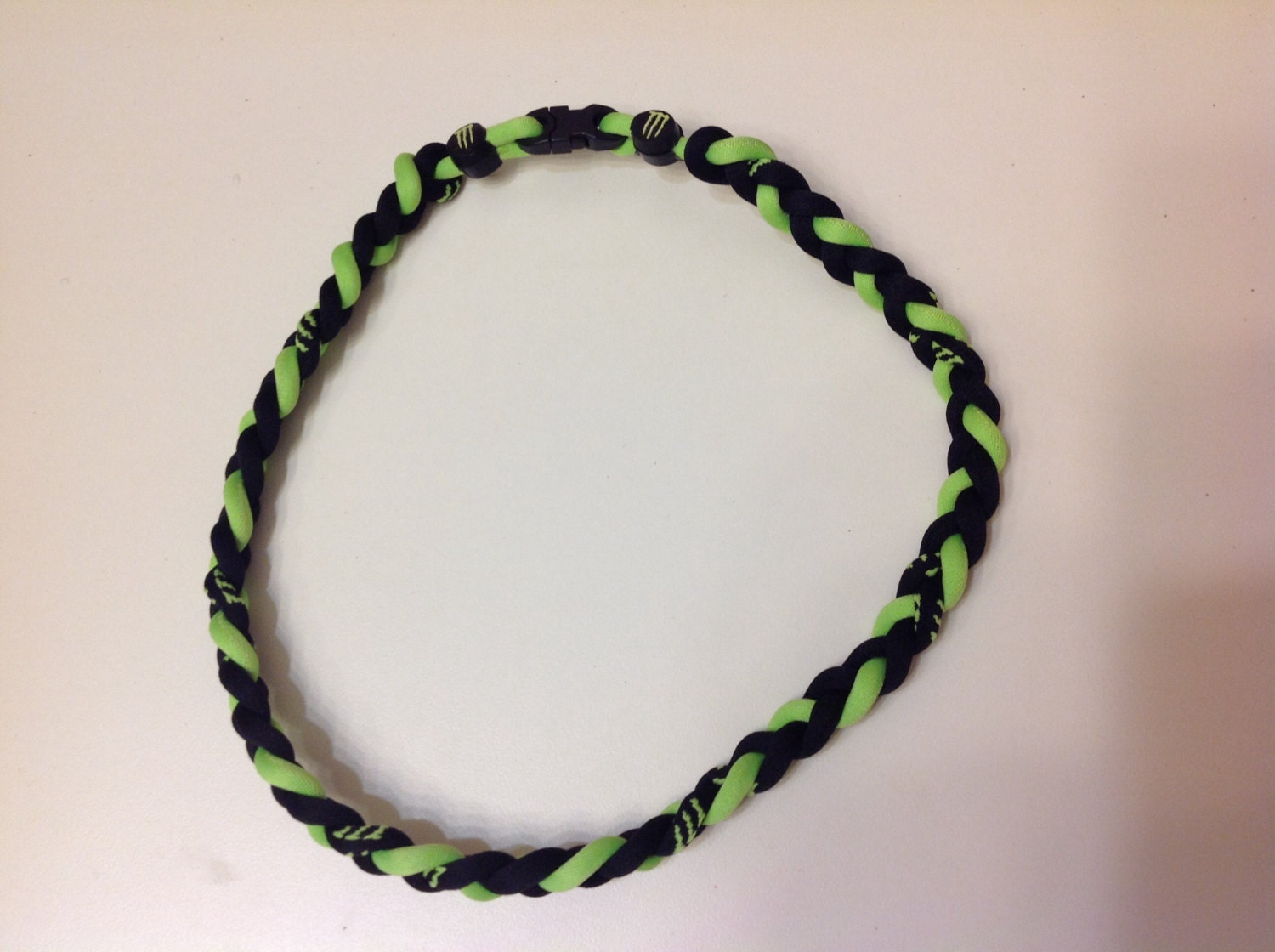 Monster Energy Sports Titanium Necklace by TheSassyPokeADot