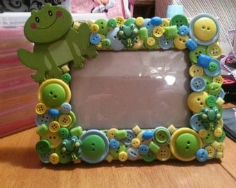 Frog Baby Picture Frame