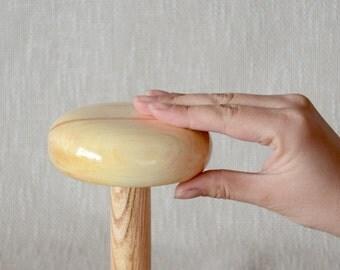 Hat Block RITA - 10cm in diameter 3cm tall - Pillbox Fascinator Hat Block