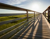 Grays Beach Boardwalk Cape Cod, cape cod decor, cape cod photography, new england decor, coastal decor, coastal photography, 5x7, 8x10