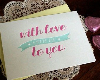 Letterpress With Love Card