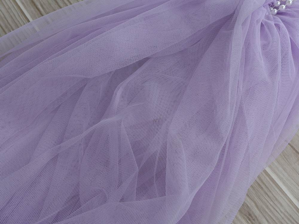 lavender tulle lace bridal illusion tulle fabric baby tutu. Black Bedroom Furniture Sets. Home Design Ideas