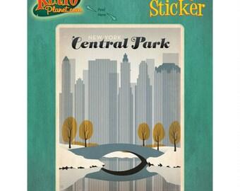 New York City Central Park Vinyl Sticker #47905