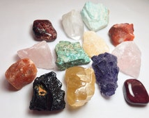 Build Your Own 14 Crystals Stones Set, Healing Crystals and Stones Set, Meditation Chakra Healing [CUSTOM ORDER]