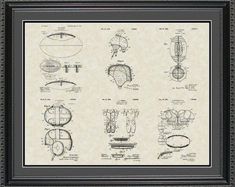 Football Patent Collection Player Coach Gift PFOOT2024