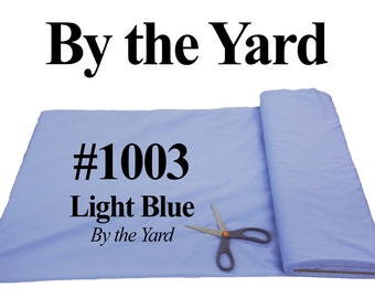 "45"" Blue Broadcloth Fabric -20 Yard Bolt"