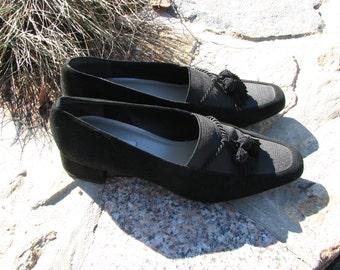 Vintage Talbots Shoes - Size 7.5 shoes - Velvet shoes